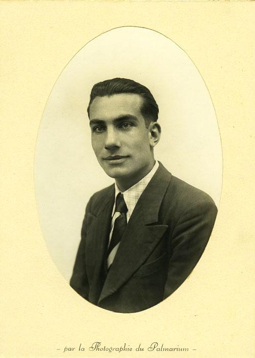 Armand Toupet à la fin des années 1930