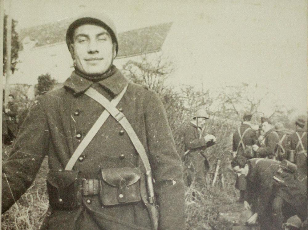 Armand Toupet en uniforme