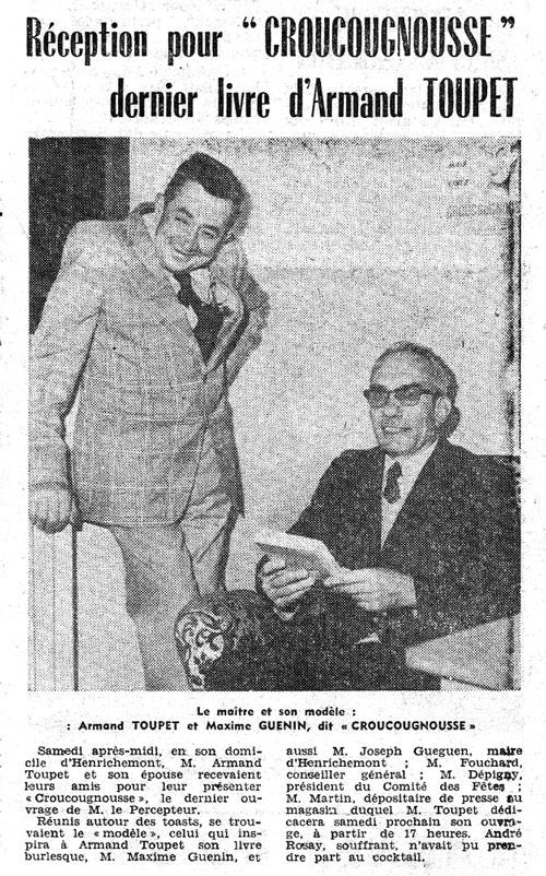 Armand Toupet et Croucougnousse