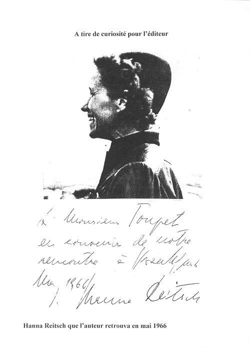 Hanna Reitsch - Armand Toupet