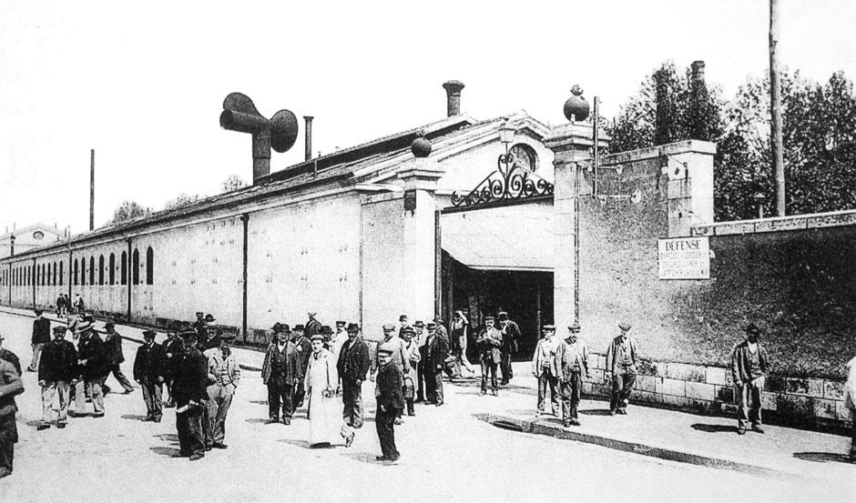 Ouvriers de la Fonderie (Collection Hervé Colas)
